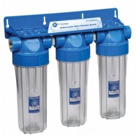 Корпус к фильтру для воды Aquafilter FHPRCL1/2-B-TRIPLE