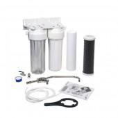 Фильтр для воды Aquafilter двухступенчатый стационарный