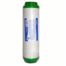 Угольный картридж Aquafilter из скорлупы кокосовых орехов, с гранулами полопропиленового волокна и загркзкой KDF размер 10 SL